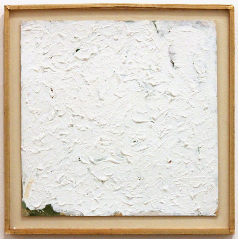 Robert Ryman, Untitled, 1961