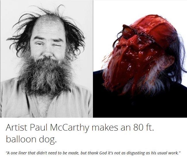 Artist-Paul-McCarthy-makes-an-80-ft.-balloon-dog.