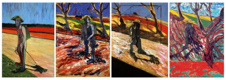 4 Tributes to Van Gogh by Francis Bacon