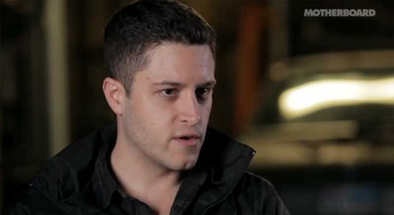 Cody Wilson, founder of Defense Distribution