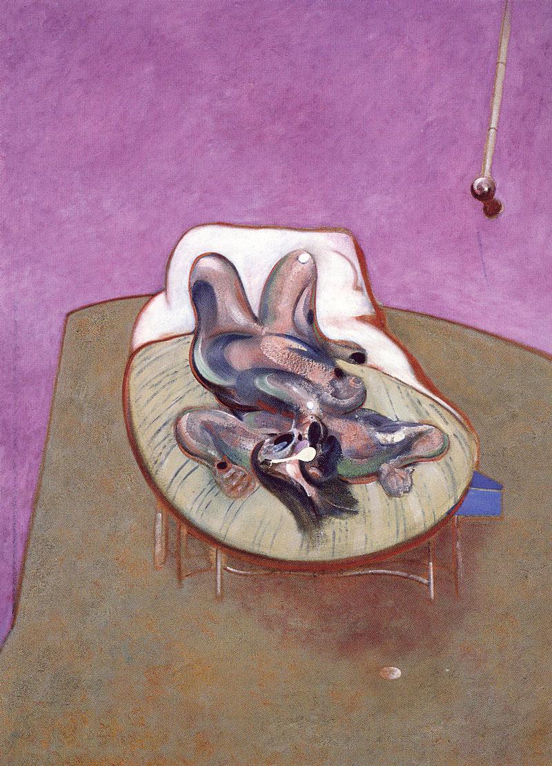 Francis-Bacon-Lying-Figure-1966