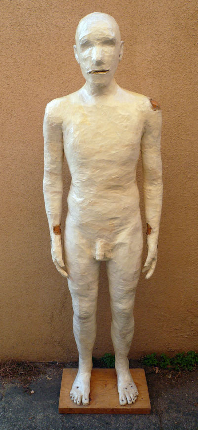 Masking Tape Man, by Eric Kuns