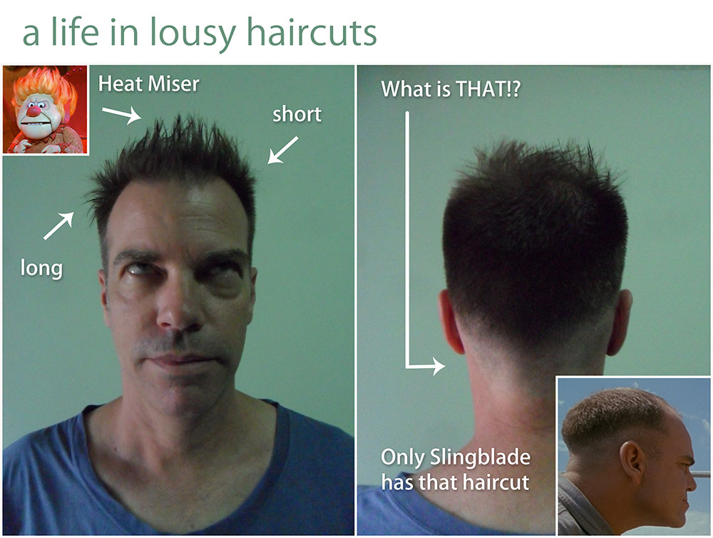 new-haircut