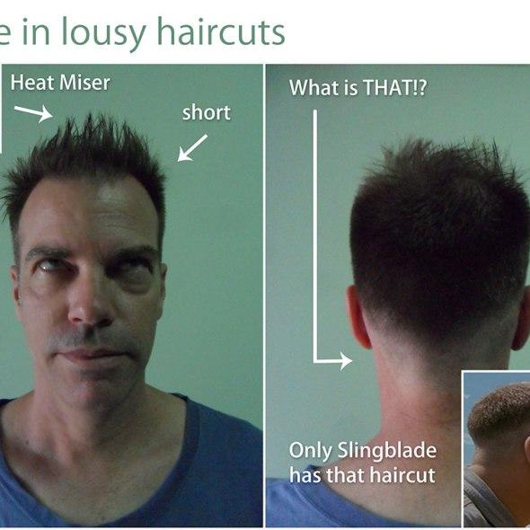 Bad Haircut Art Criticism By Eric Wayne