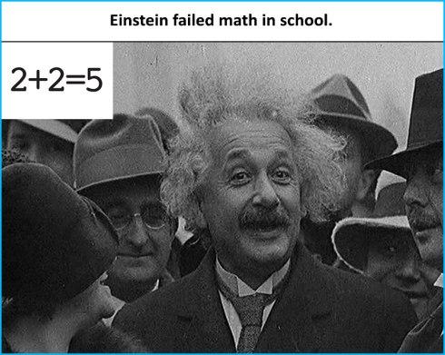 Einstein-failled-math