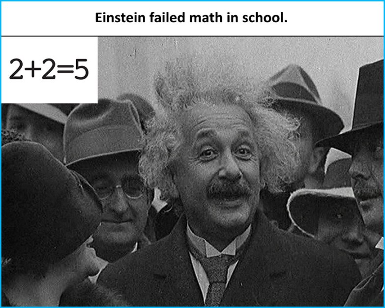 Einstein-failled-math