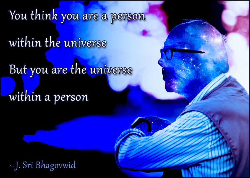 Universe-within-a-person