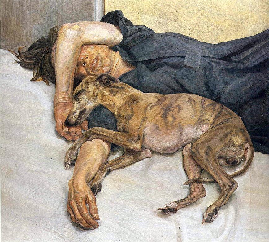 Freud-painting-w-dog