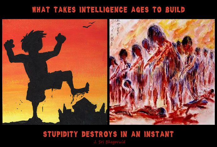 intelligence-versus-stupidity