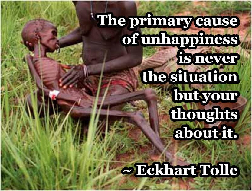Eckhart-on-unhappiness