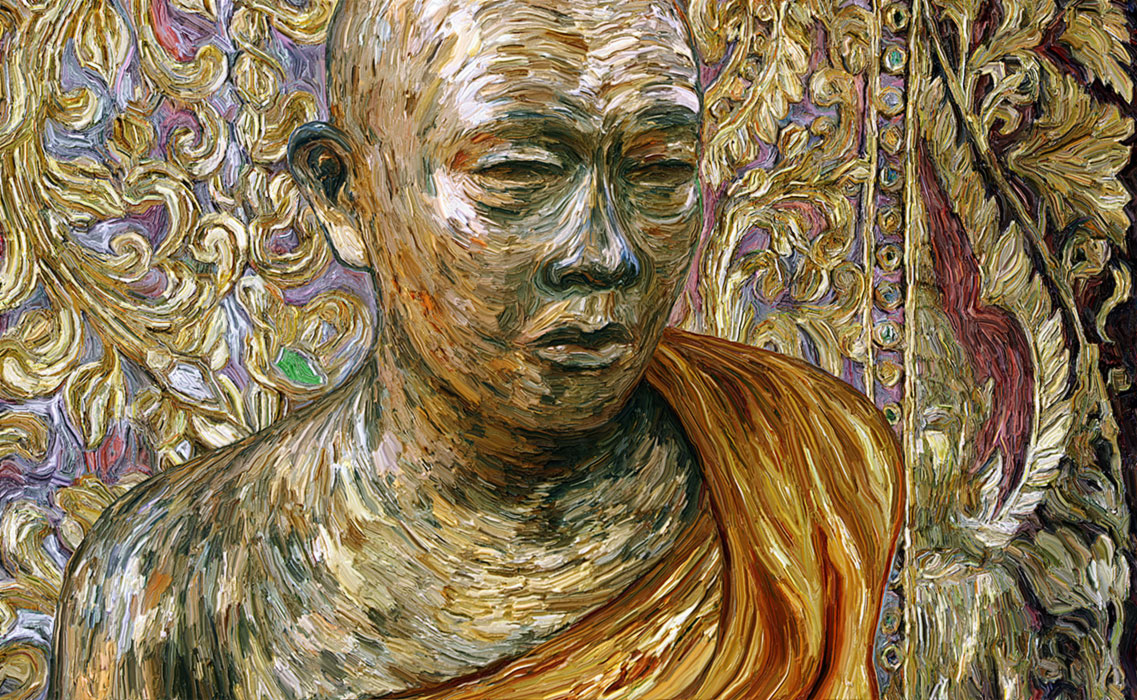 Gold Leaf Monk