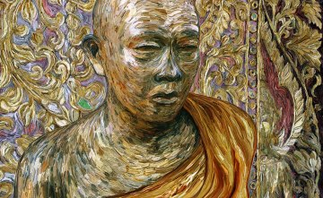 Gold Leaf Monk