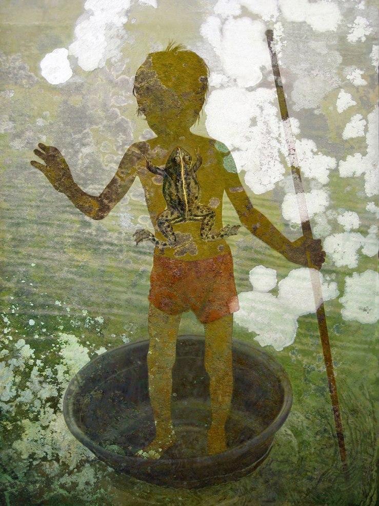 Tonle Sap Lake Boy