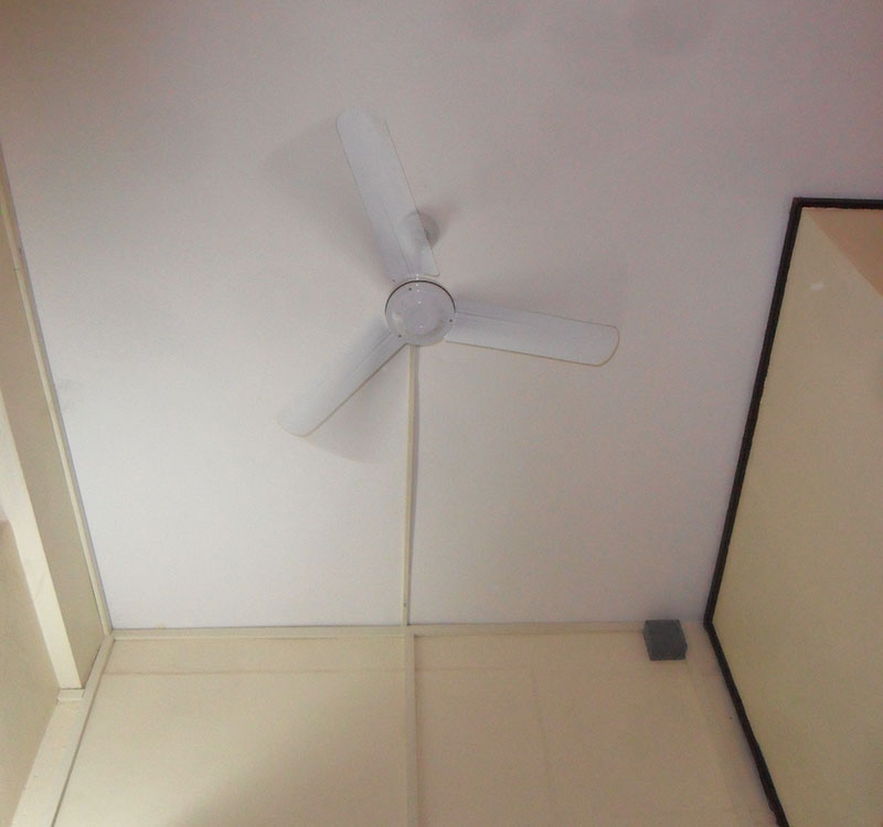 fan in hotel room Vientiane