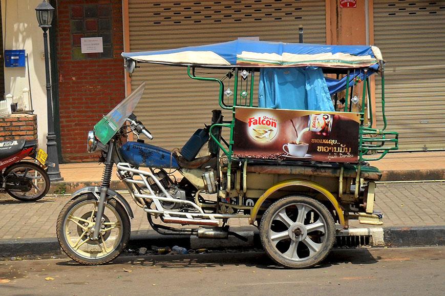 Laos tuk-tuk
