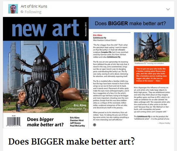 Does Bigger make Better Art