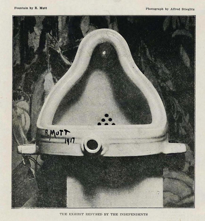 Duschamp-fountain