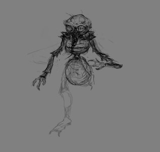 1) First sketch.