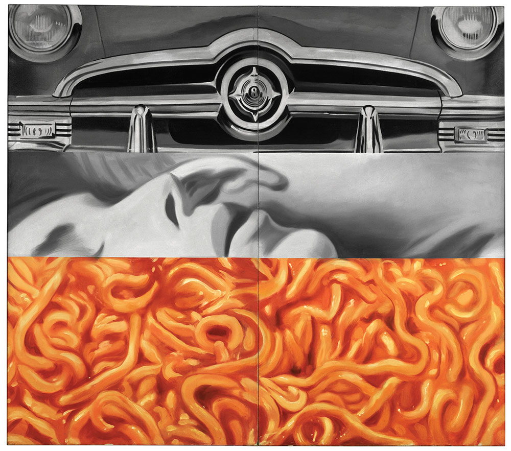 James-Rosenquist--I-Love-You-with-My-Ford,-1961