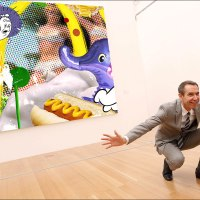 Deconstructing Jeff Koons' paintings, and why they are an attempt at original art (as opposed to his usual appropriations)