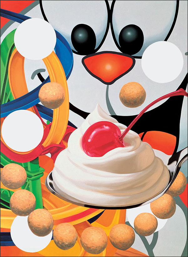 Loopy, 1999, oil on canvas