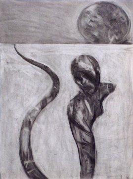 Snake Woman and Egg