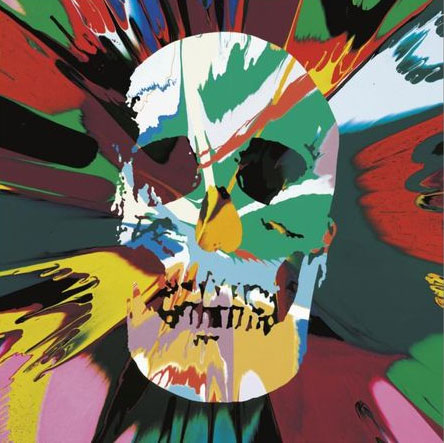Damien-Hirst,-Beautiful-Kali-Psychopathy-Intense-Painting-(with-Extra-Inner-Beauty),-signed,-titled-and-dated-2008