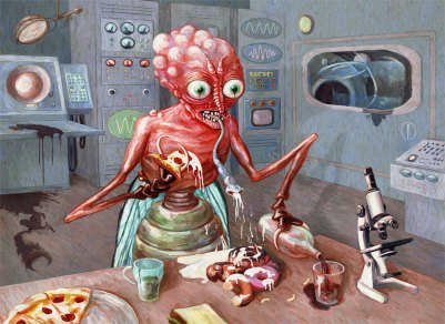 The Human Fly, by Eric Kuns, digital image