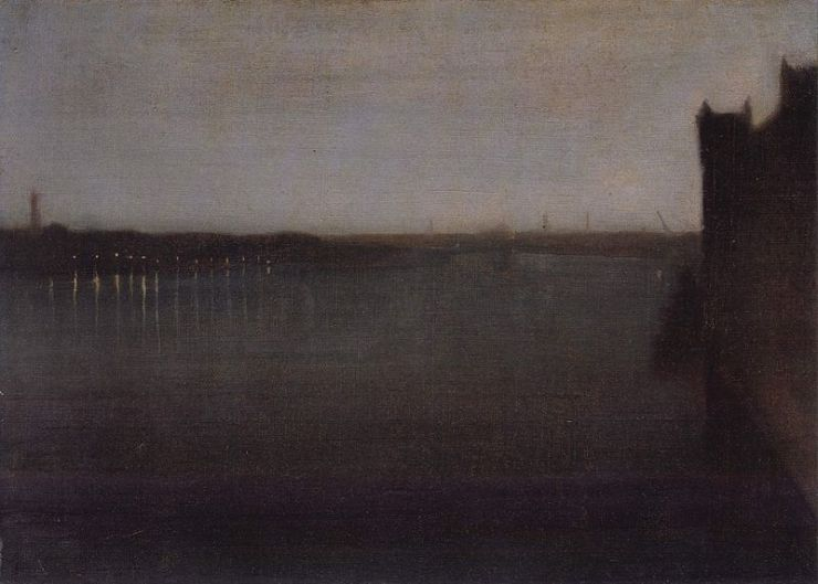 James_Abbot_McNeill_Whistler nocturne in gray and gold westminster bridge