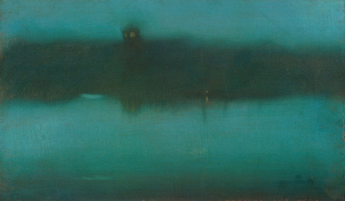 Nocturne in Grey and Silver, 1873. Whistler