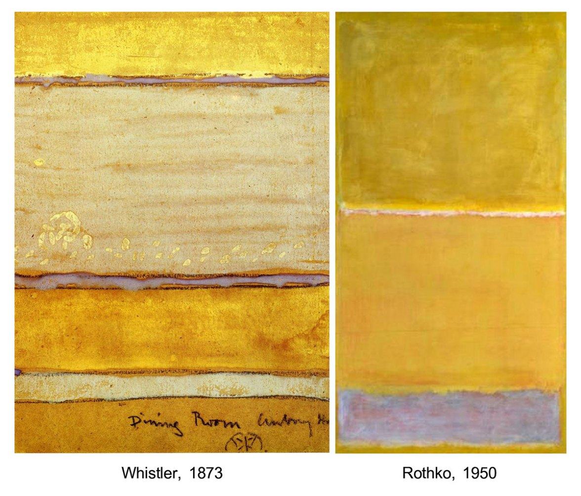 Whistler and Rothko