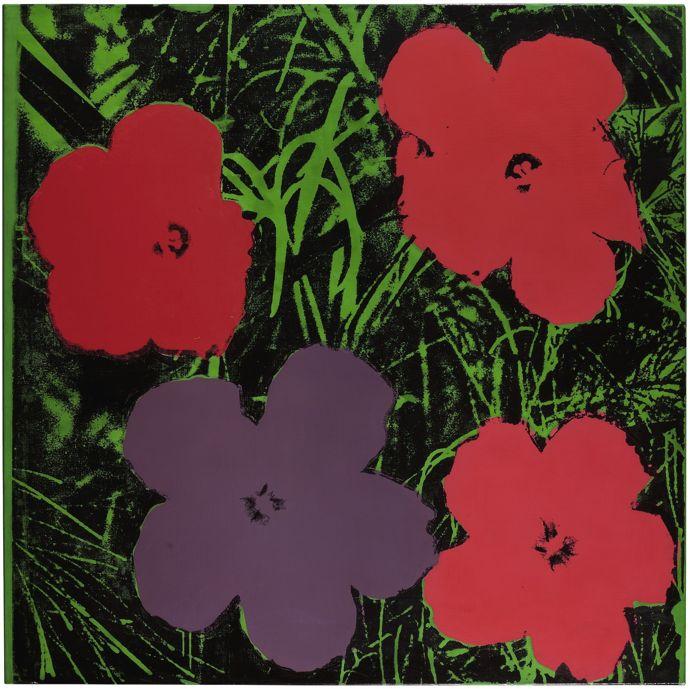 Flowers by Warhol