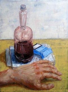"""""""the breakup"""", by LikeBenjiReadingOvid [painting]"""