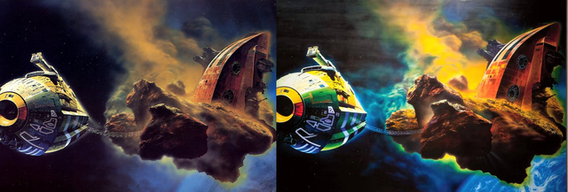 Chris Foss and Glenn Brown