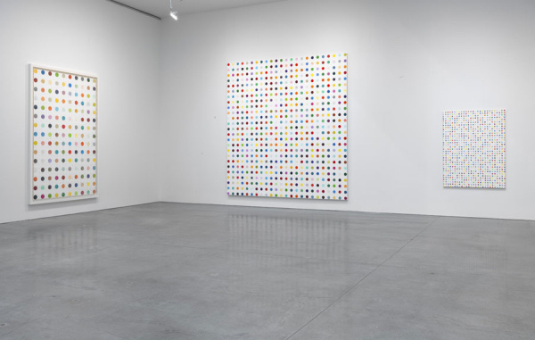 Damien Hirst Spot paintings