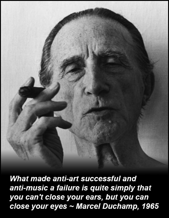 Duchamp quote on Anti-art