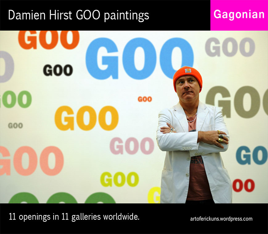 Damien Hirst Goo Paintings