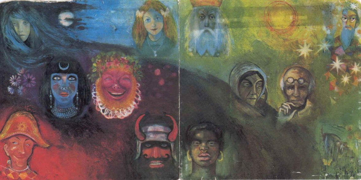 "KrimsonKing Crimson ""The Wake of Poseidon"" album cover. A teenage could have a few transcendant moments listening to that almbu while gazing at the cover back in the 80s."