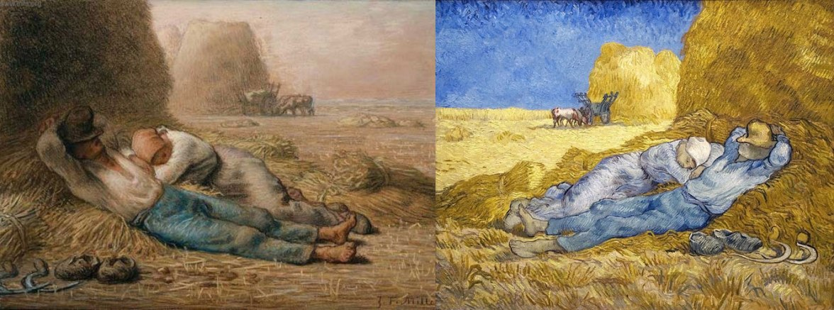 Millet and Van Gogh, Noon and Rest