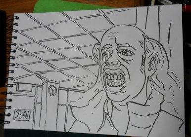 Ed in ink