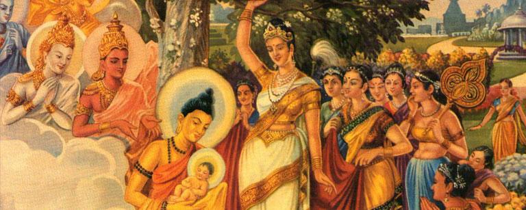 Birth-of-Buddha