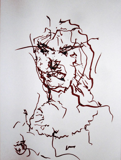 Tracey-Emin-Self-Portraint