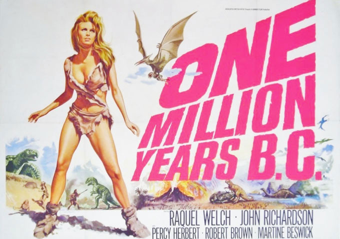 One millionis years B.C.