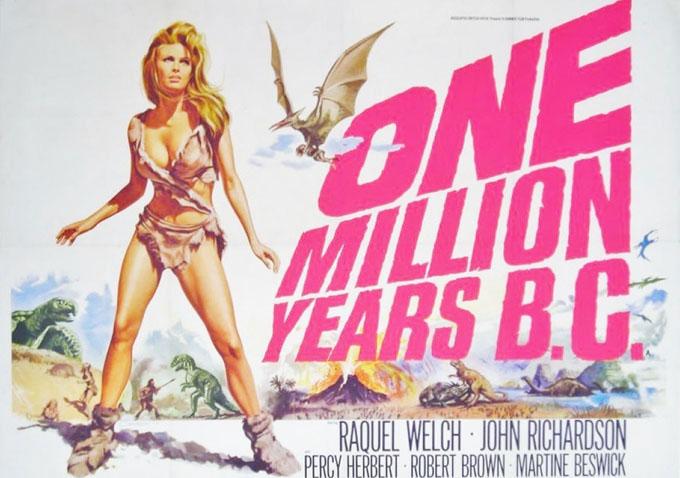 One millionis years B.C.