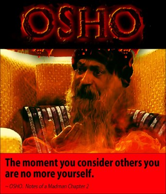 Osho quote on selfishness