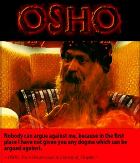 Osho quote nobody can argue against me