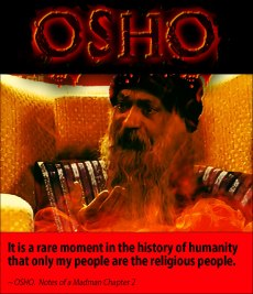 osho quote only religio