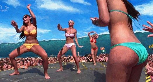 Swell-with-Bikini-Dancing-Girls