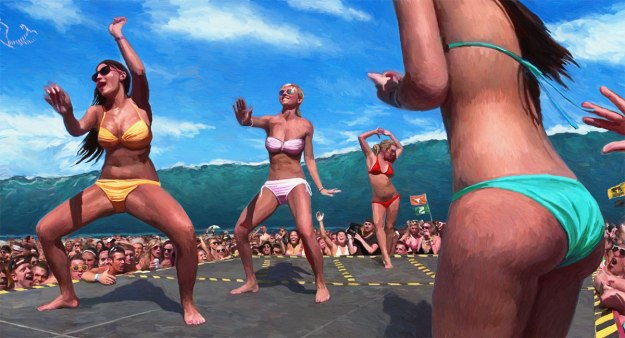 Swell-with-Bikini-Dancing-Girls