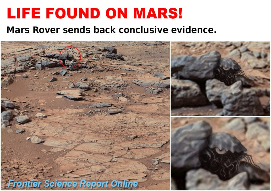 Life On Mars Confirmed!   Art of Eric Wayne